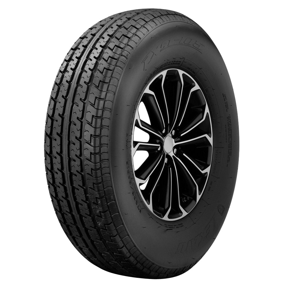 Lexani Tires LXST-105 Trailer Tire - ST225/75R15 117/112L 10 Ply