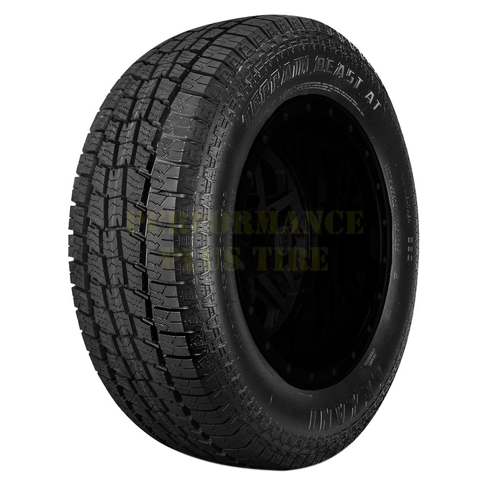 Lexani Tires Terrain Beast AT Light Truck/SUV All Terrain/Mud Terrain Hybrid Tire - 265/70R15 112S