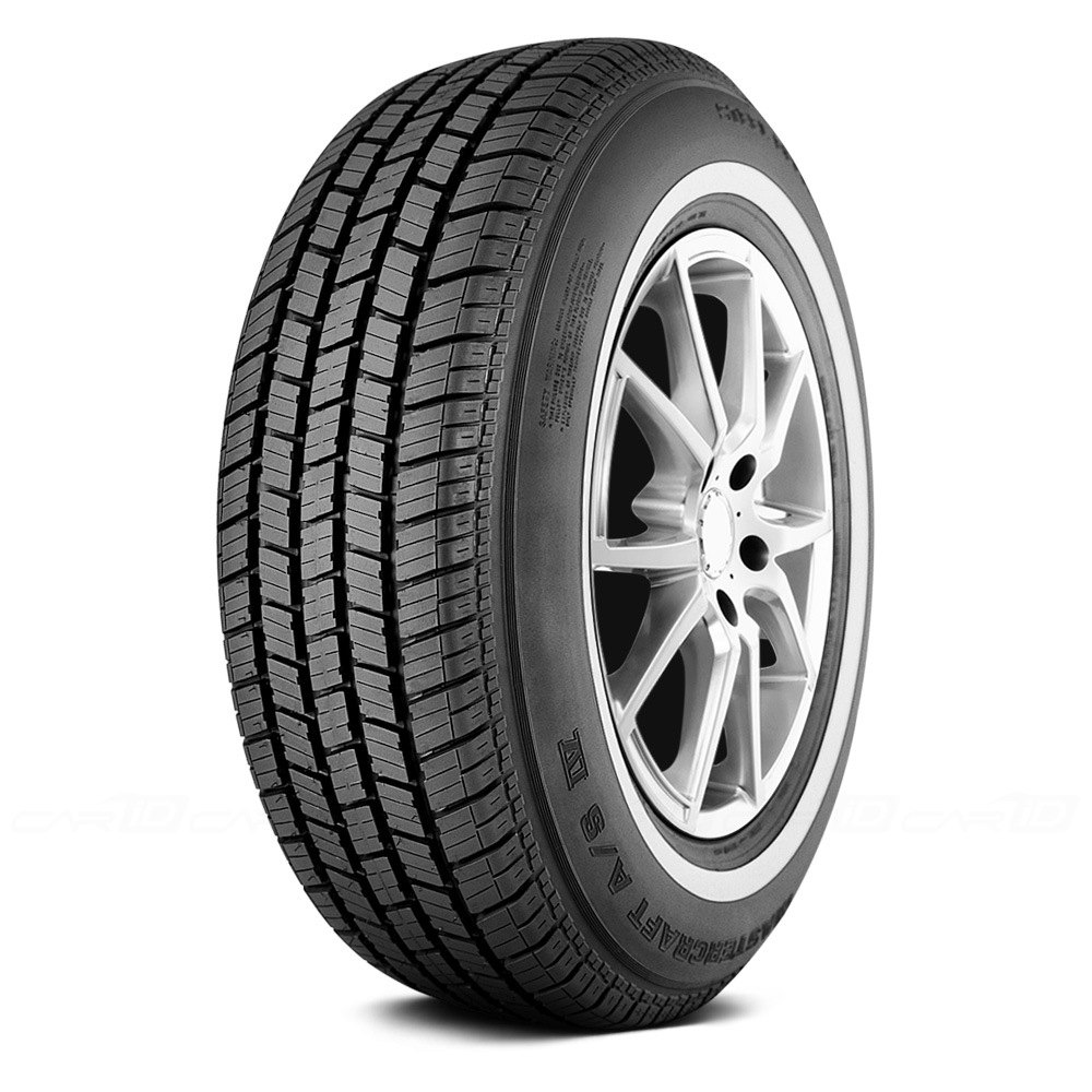 Mastercraft Tires A/S IV Passenger All Season Tire - P205/75R15 97S