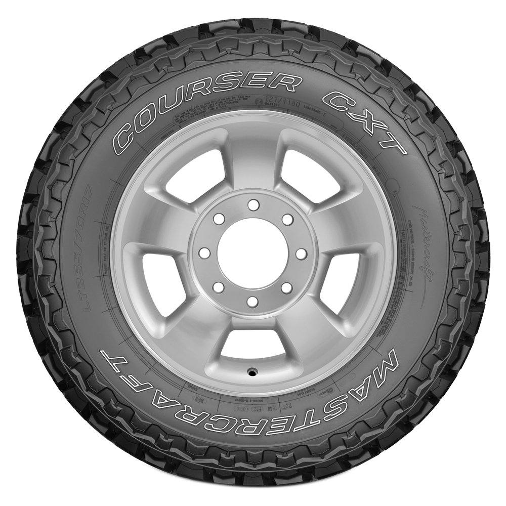 Mastercraft Tires Courser CXT Light Truck/SUV All Terrain/Mud Terrain Hybrid Tire - LT305/70R18 126/123Q 10 Ply