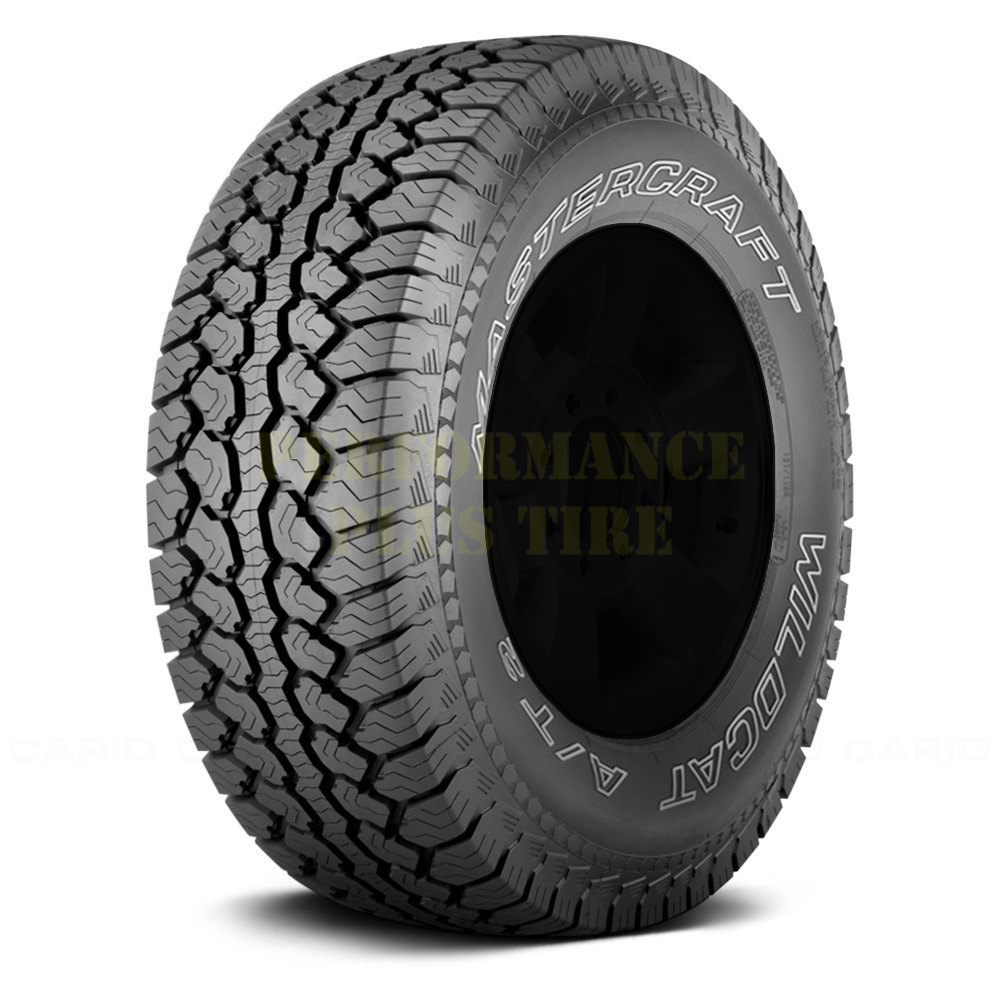 Mastercraft Tires Wildcat A/T2 Light Truck/SUV Highway All Season Tire - LT255/70R16 108/104R 6 Ply