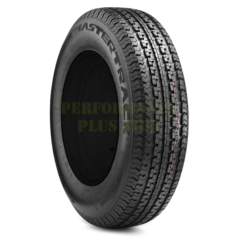 Mastertrack Tires UN203 Trailer Tire - ST205/75R14 100Q 6 Ply
