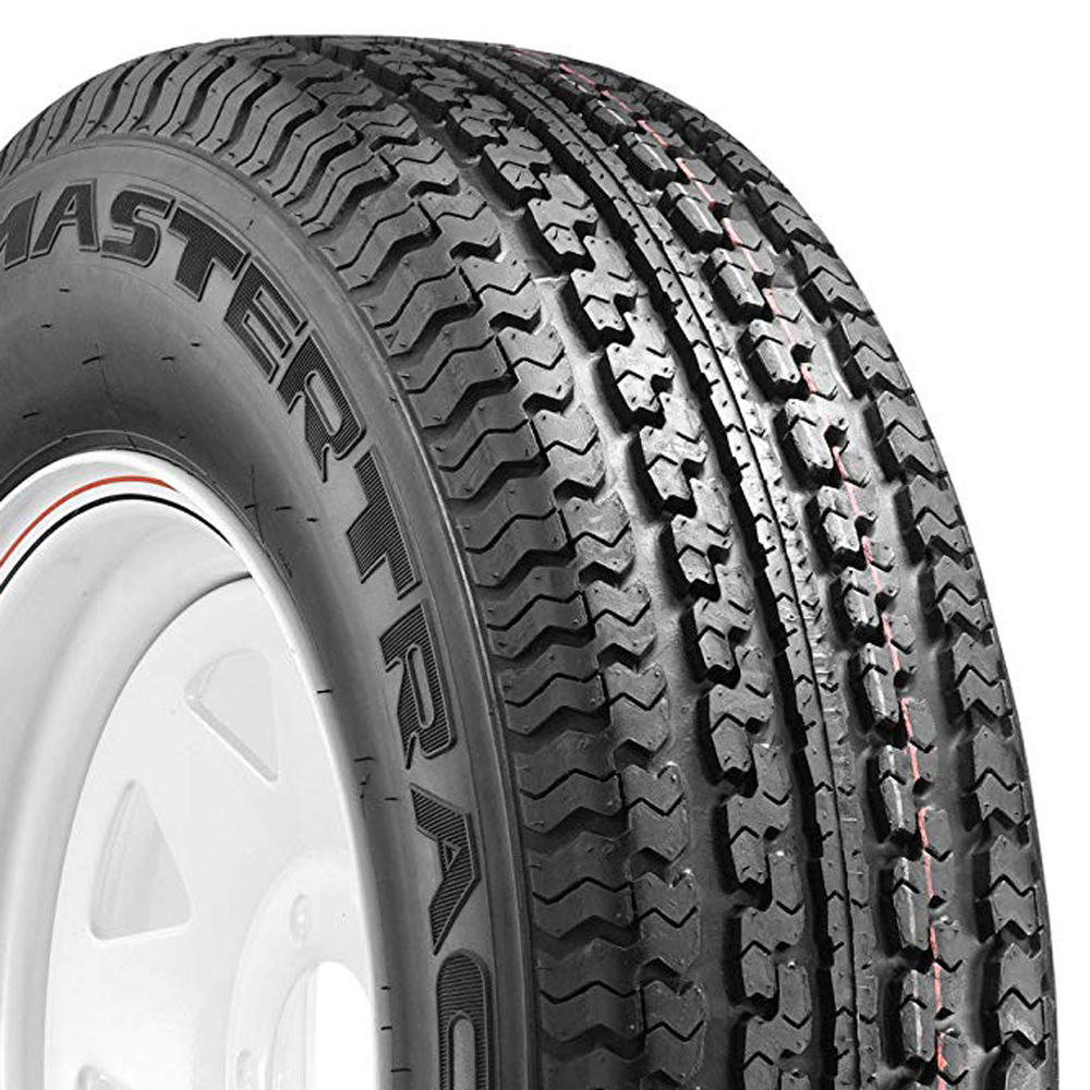 Mastertrack Tires UN203 Trailer Tire - ST225/75R15 113Q 8 Ply