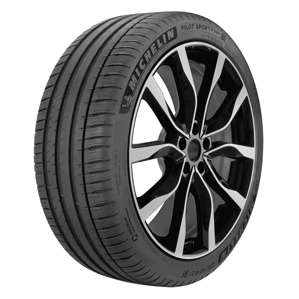 Michelin Tires Pilot Sport 4 SUV Passenger Summer Tire - 255/40R21XL 102Y