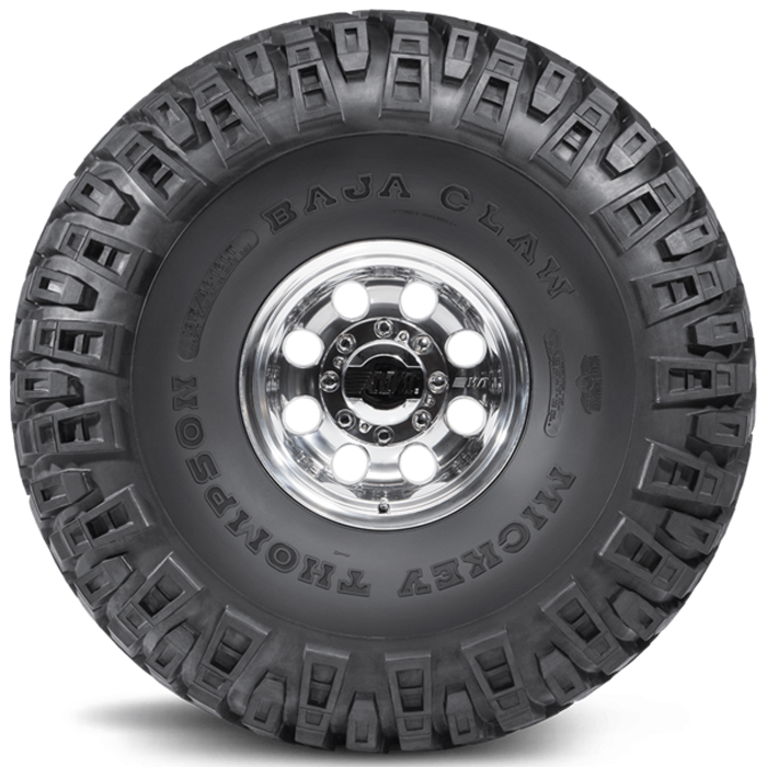 "Mickey Thompson Tires Baja Claw 46"" Light Truck/SUV All Terrain/Mud Terrain Hybrid Tire - LT19.50/46-16 LT 6 Ply"