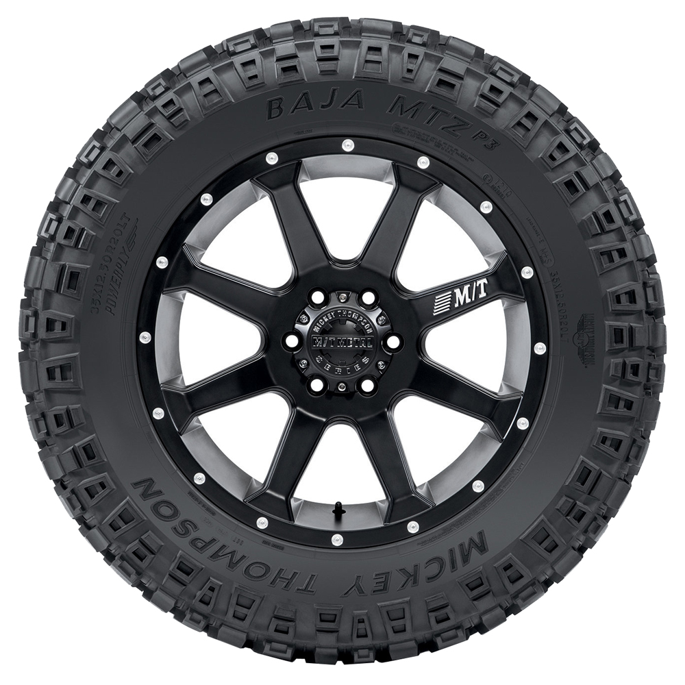 Mickey Thompson Tires Baja MTZP3 - LT375/65R16 126/123Q 8 Ply