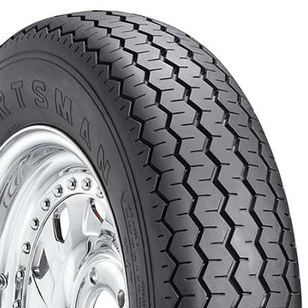 Mickey Thompson Drag Tires Sportsman Front Classic / Vintage / Military Tire - 26x8.50-15