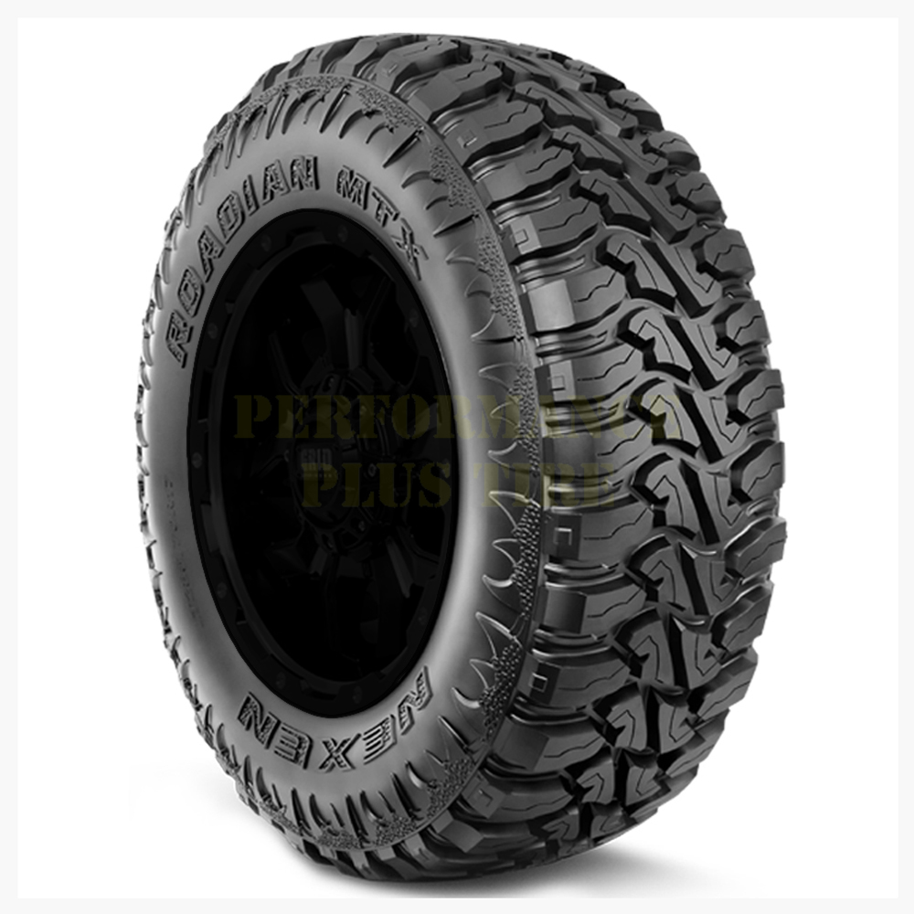 Nexen Tires Roadian MTX Light Truck/SUV Mud Terrain Tire - 33x12.50R17LT 121Q 12 Ply