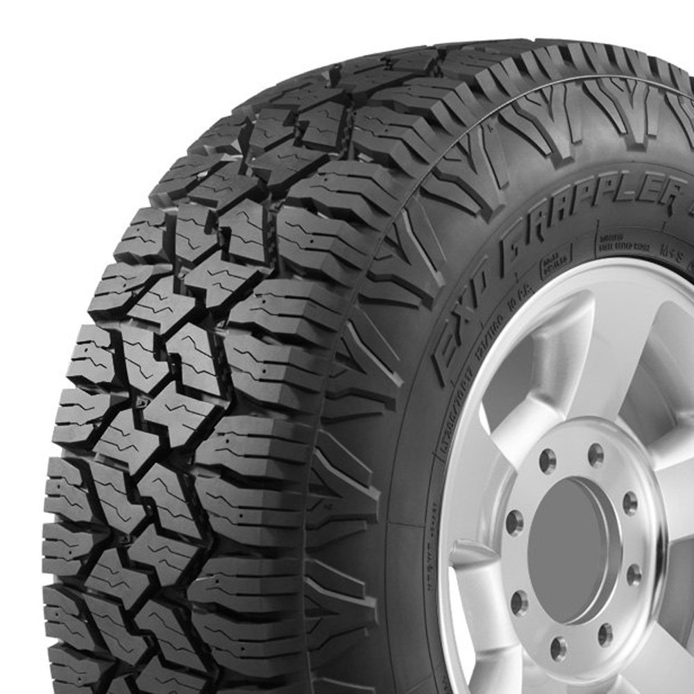 Nitto Tires Exo Grappler Light Truck/SUV Highway All Season Tire - 37x13.50R17LT 121Q 10 Ply