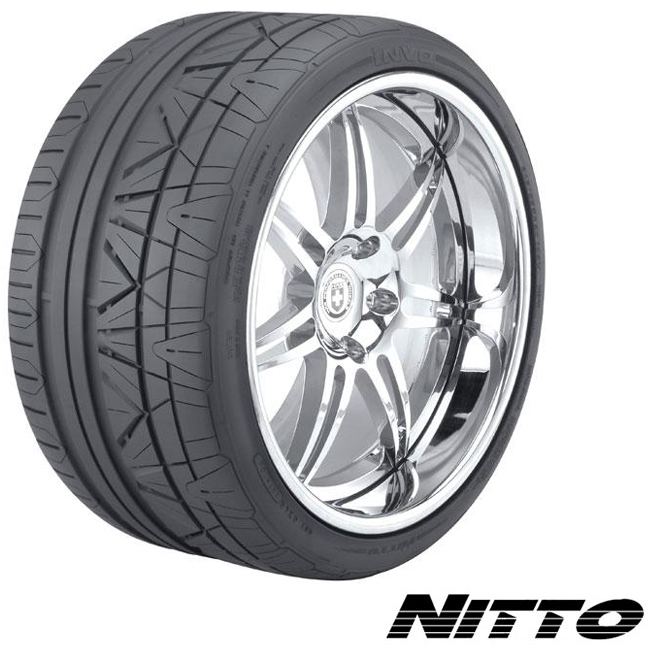 Nitto Tires Invo Passenger Performance Tire - 345/25ZR20 100Y