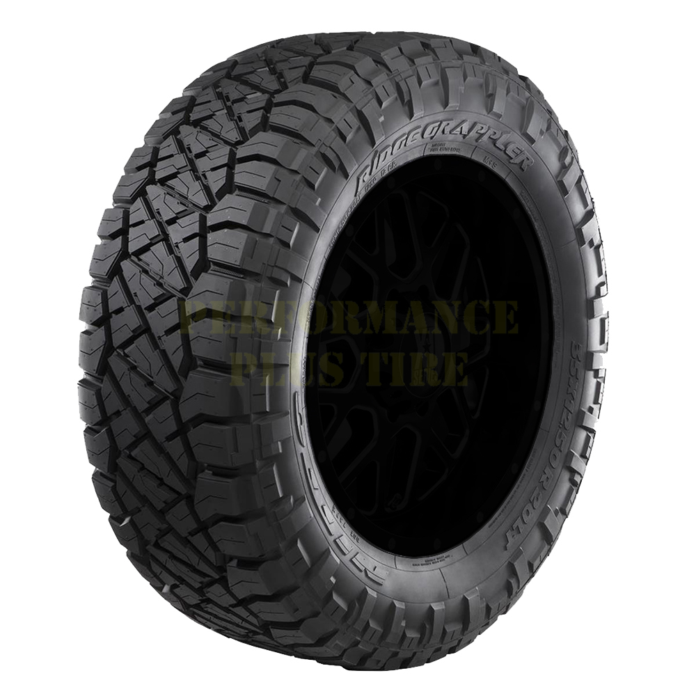 Nitto Tires Ridge Grappler Light Truck/SUV Highway All Season Tire - LT305/70R17 121/118Q 10 Ply