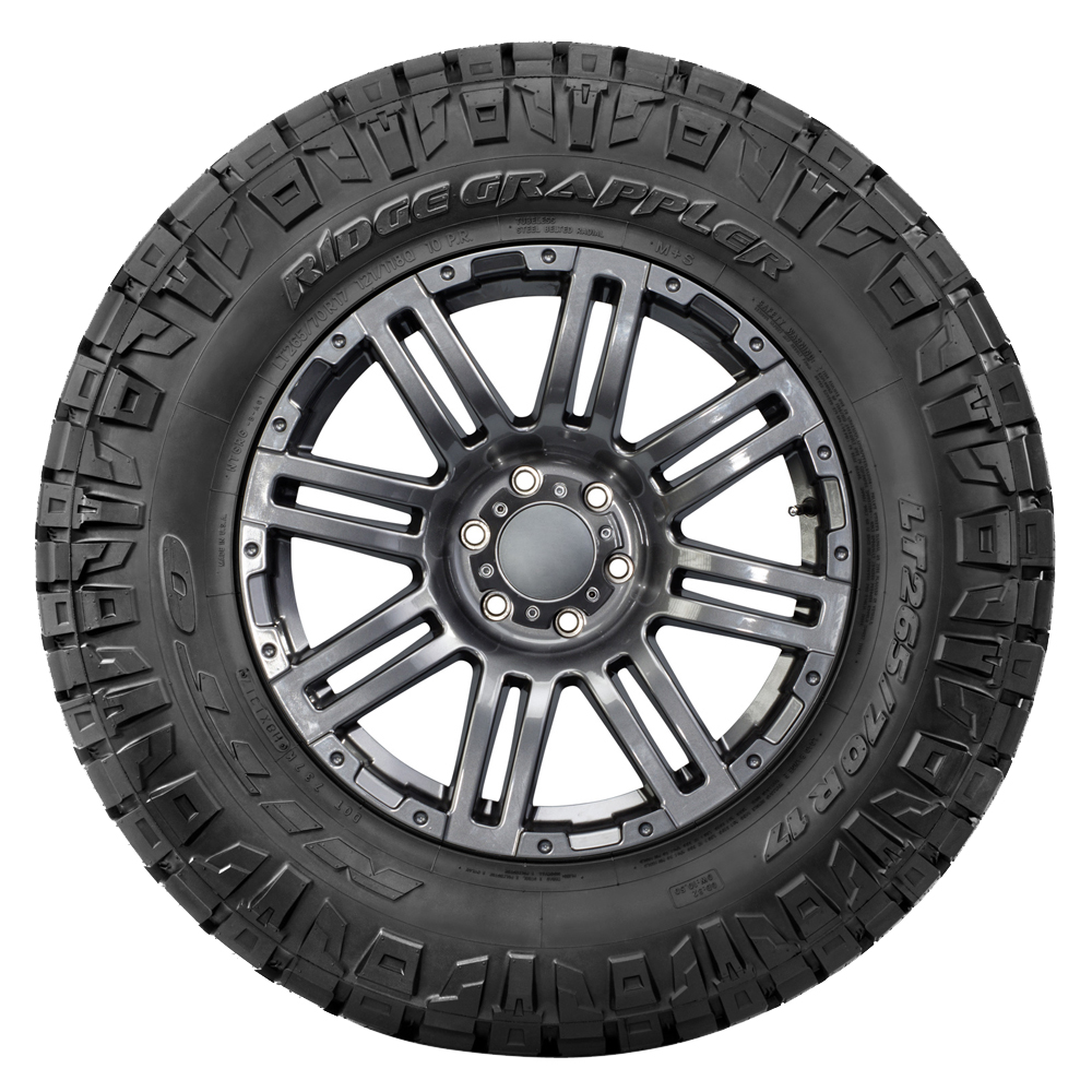 Nitto Tires Ridge Grappler - LT285/60R18 122/119Q 10 Ply