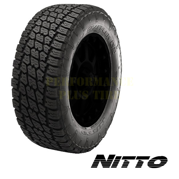 Nitto Tires Terra Grappler G2 Light Truck/SUV All Terrain/Mud Terrain Hybrid Tire - 37x13.50R17LT 121R 10 Ply