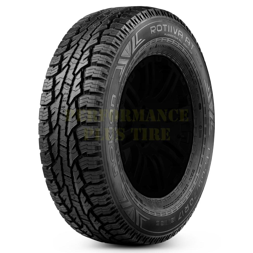 Nokian Tires A/T Plus Light Truck/SUV All Terrain/Mud Terrain Hybrid Tire - LT275/70R17 114/110S 6 Ply
