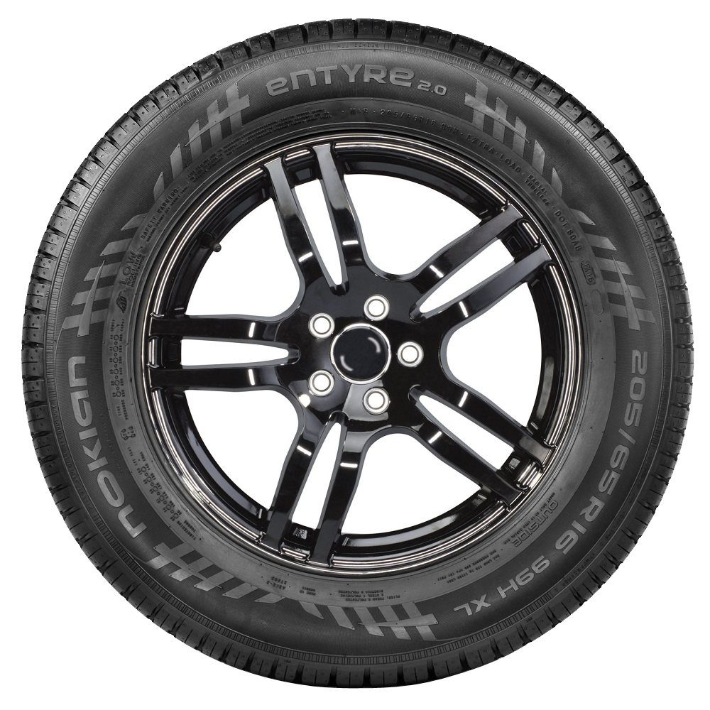 Nokian Tires eNTYRE 2.0 Passenger All Season Tire - 195/60R16 89H