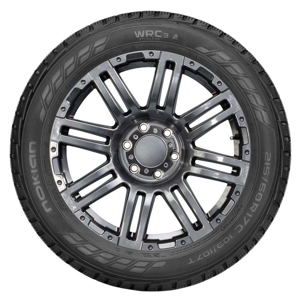 Nokian Tires WR C3 Light Truck/SUV Highway All Season Tire - LT225/70R15 112/110S 8 Ply