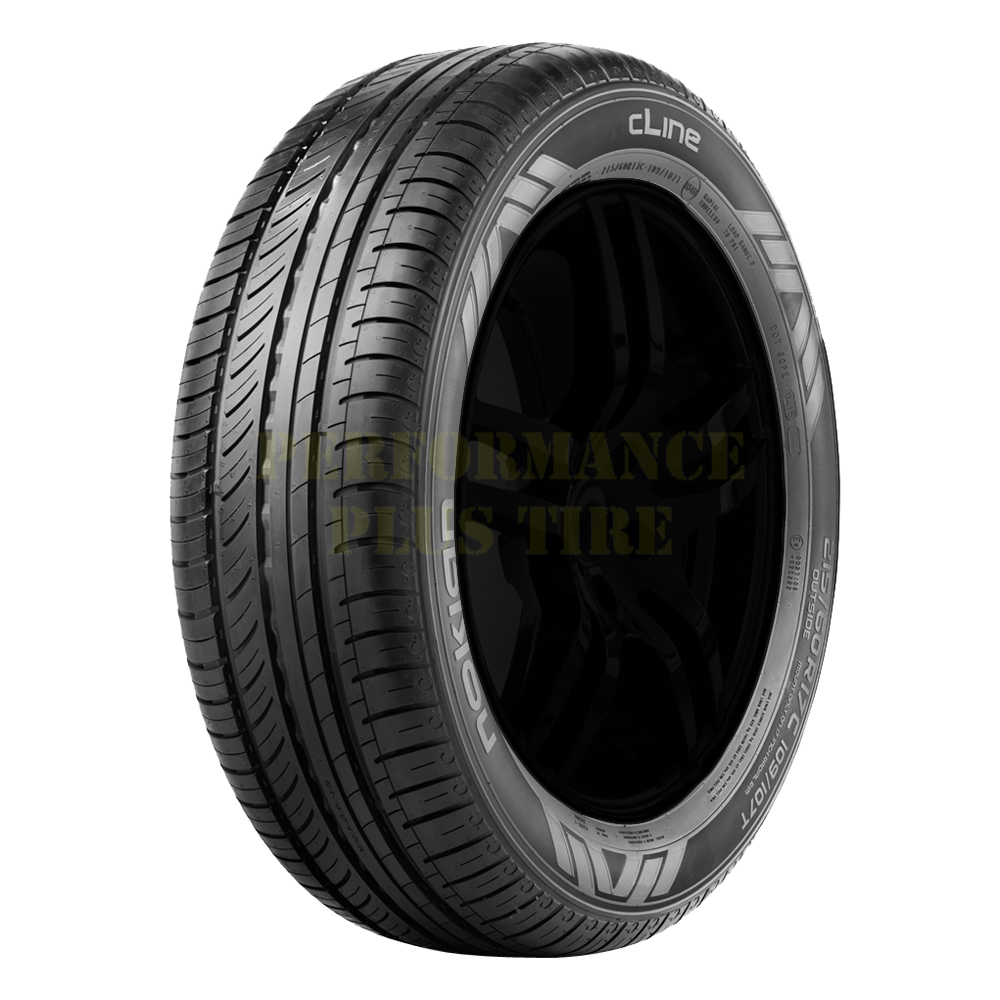Nokian Tires cLine Light Truck/SUV Highway All Season Tire - LT225/70R15 112/110S 8 Ply
