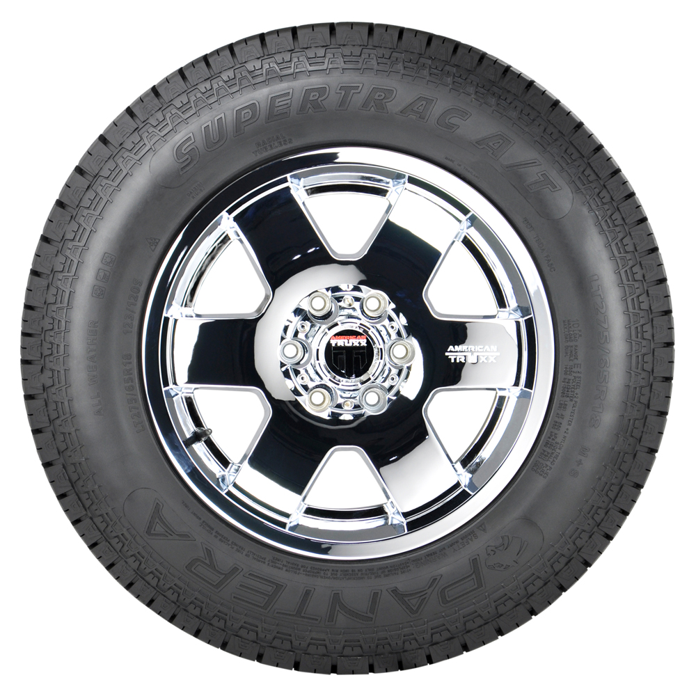 Pantera Tires Supertrac A/T Light Truck/SUV Highway All Season Tire