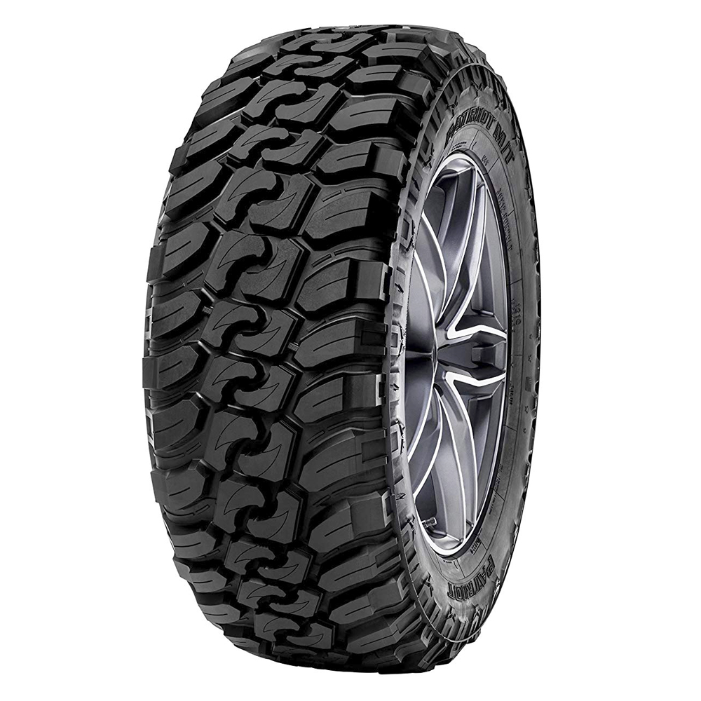 Patriot Tires Patriot MT Light Truck/SUV Mud Terrain Tire - 35x12.5R20LT 125Q 12 Ply