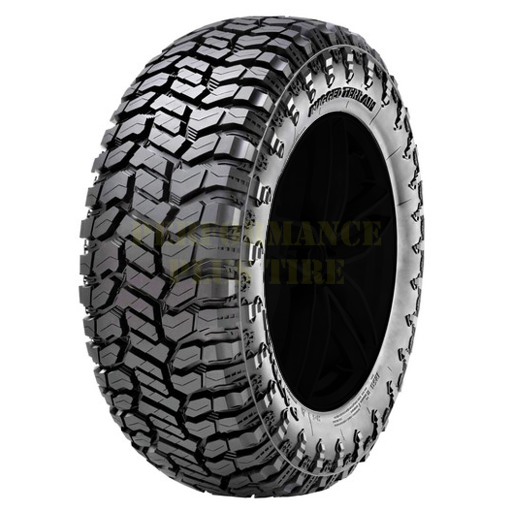 Patriot Tires Patriot R/T Light Truck/SUV All Terrain/Mud Terrain Hybrid Tire - 35x12.5R20LT 121Q 10 Ply