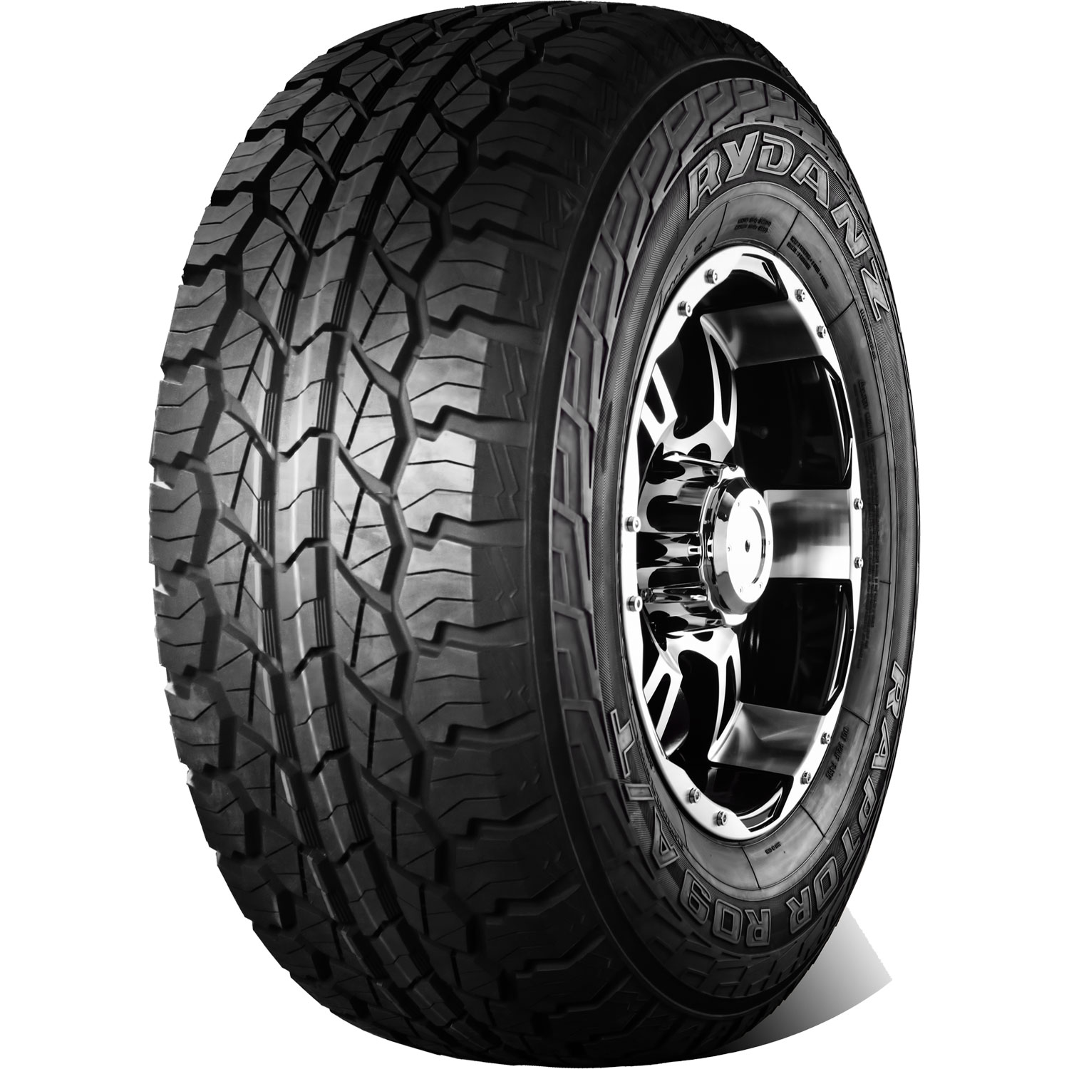 Rydanz Tires Raptor R09 AT Passenger All Season Tire - LT215/75R15 100/97S 6 Ply