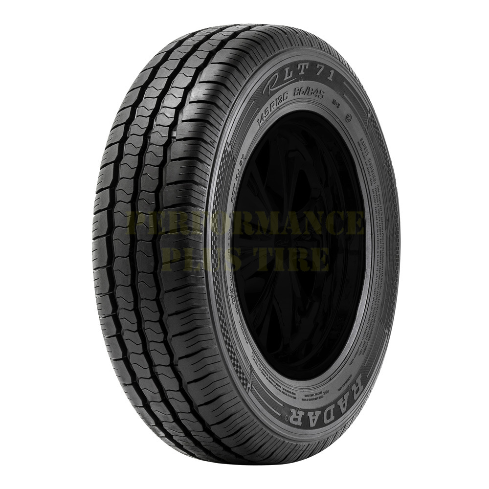 Radar Tires RLT 71 Light Truck/SUV Highway All Season Tire - 205/75R14C 109/107R 6 Ply