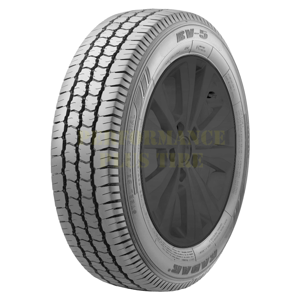 Radar Tires RV 5 - 195/65R16C 104/102R 8 Ply
