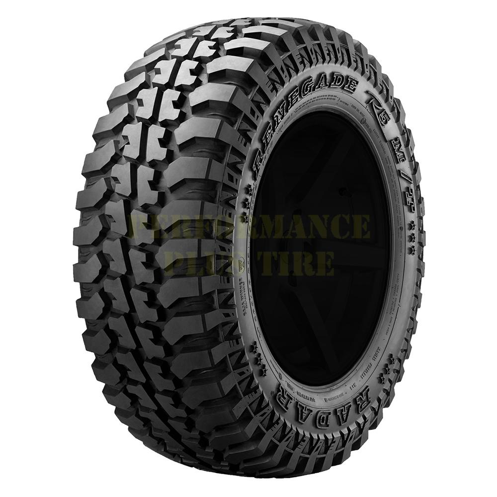 Radar Tires Renegade R5 Light Truck/SUV All Terrain/Mud Terrain Hybrid Tire