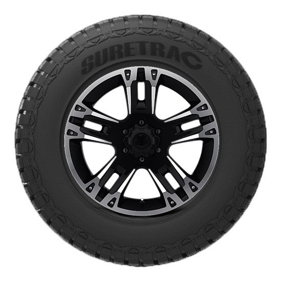 Suretrac Tires Wide Climber RT Light Truck/SUV All Terrain/Mud Terrain Hybrid Tire