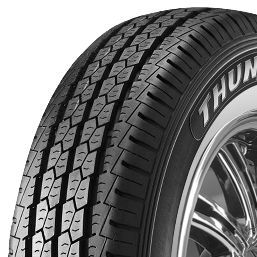 Thunderer Tires R200 Light Truck/SUV Highway All Season Tire - 155R12 88/86R 8 Ply