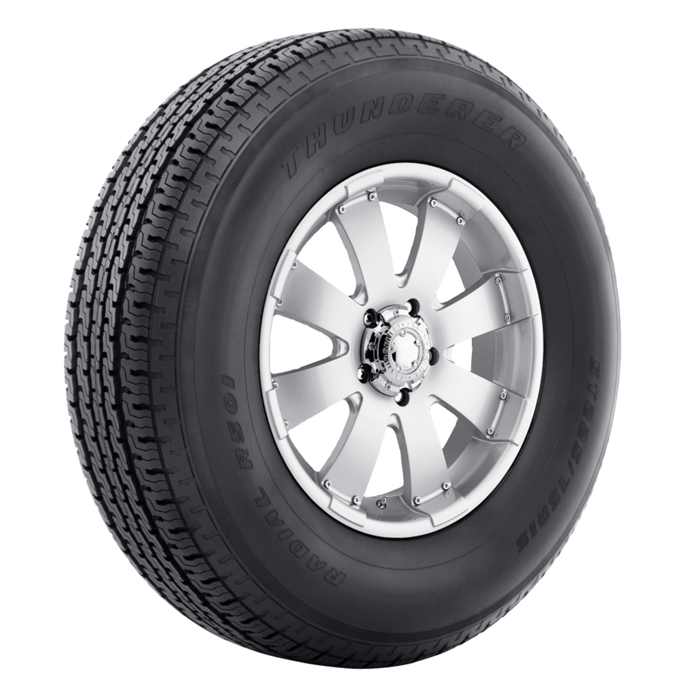 Thunderer Tires ST Radial R501 Trailer Tire - ST215/75R14 102/98L 6 Ply