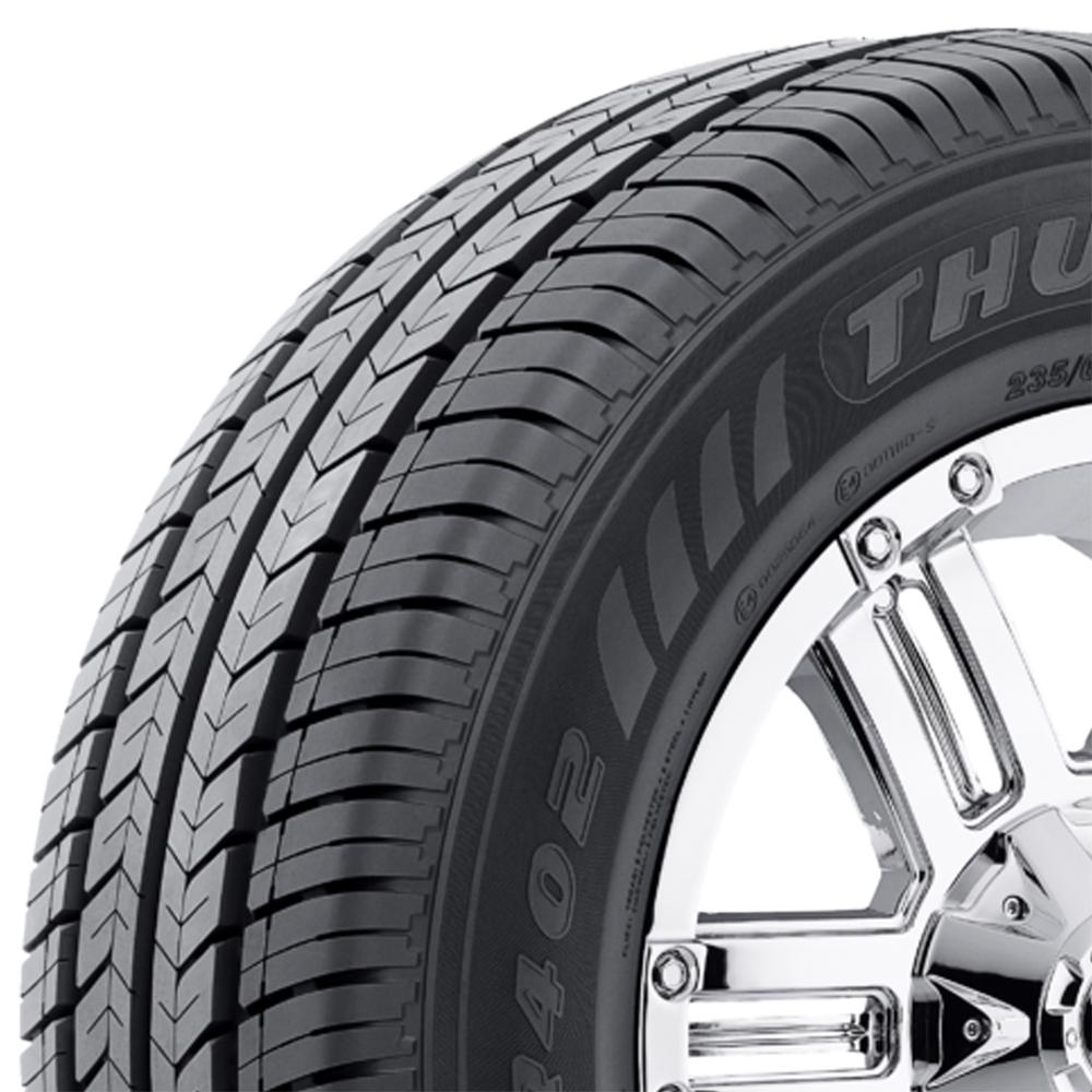 Thunderer Tires Ranger R402 Light Truck/SUV Highway All Season Tire - LT205/75R16 110/108R 8 Ply