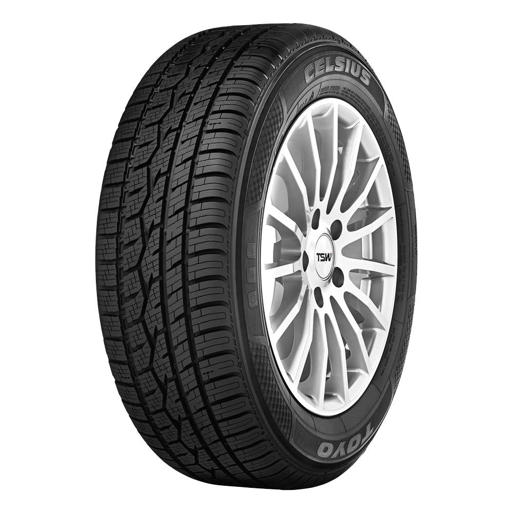 Toyo Tires Celsius Passenger All Season Tire - 245/55R18 103W
