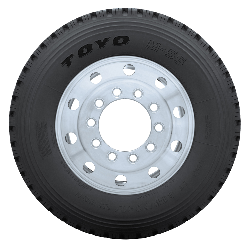 Toyo Tires M55 Light Truck/SUV Highway All Season Tire - LT215/75R15 100Q 6 Ply