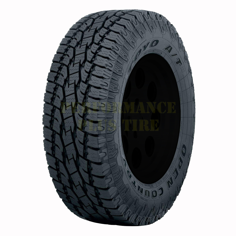 Toyo Tires Open Country AT II Passenger All Season Tire - LT255/65R18 120/117S 10 Ply