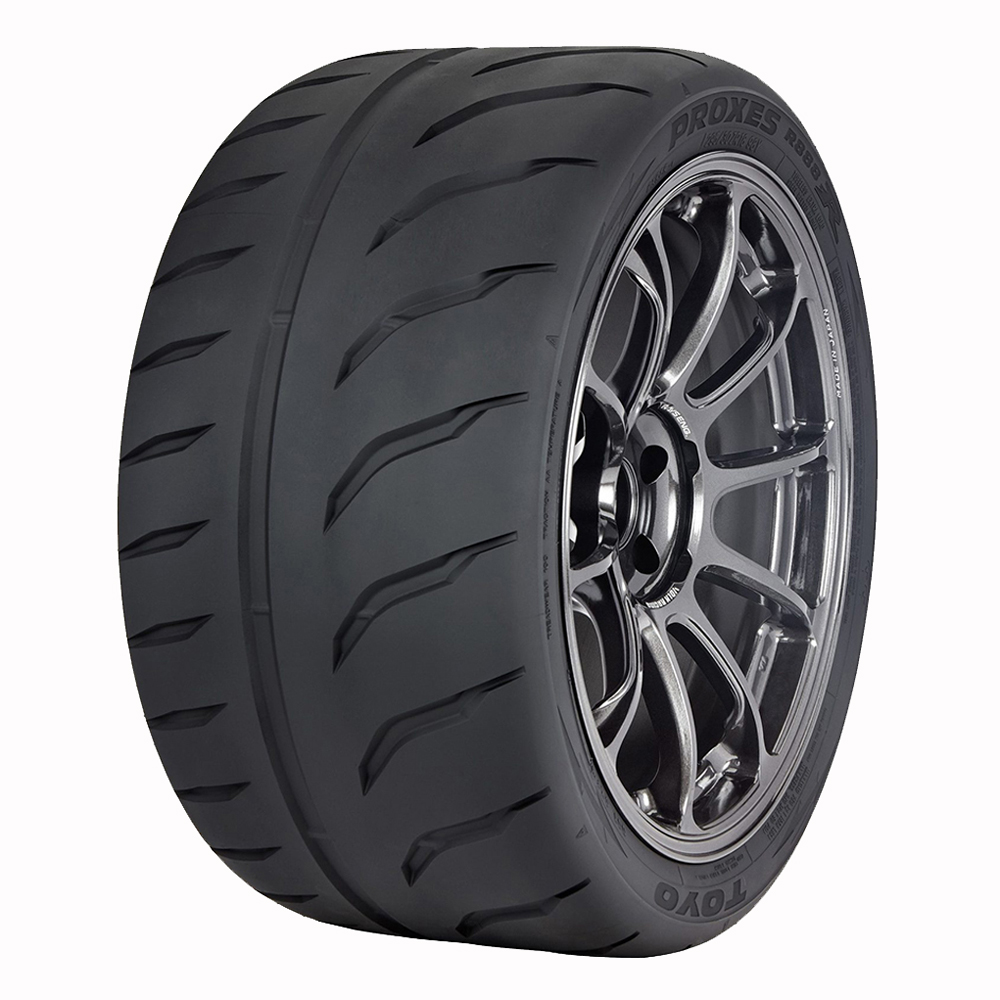 white letter low profile tires white letter low profile tires world of reference 25639 | Toyo Proxes R888R Angle