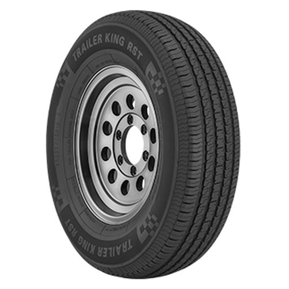Trailer King Tires RST Trailer Tire - ST215/75R14 102/98M 6 Ply
