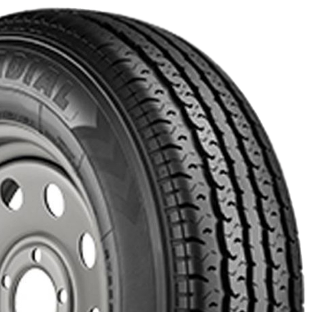 Trailer King Tires ST II Trailer Tire - ST205/75R14 100/96L 6 Ply