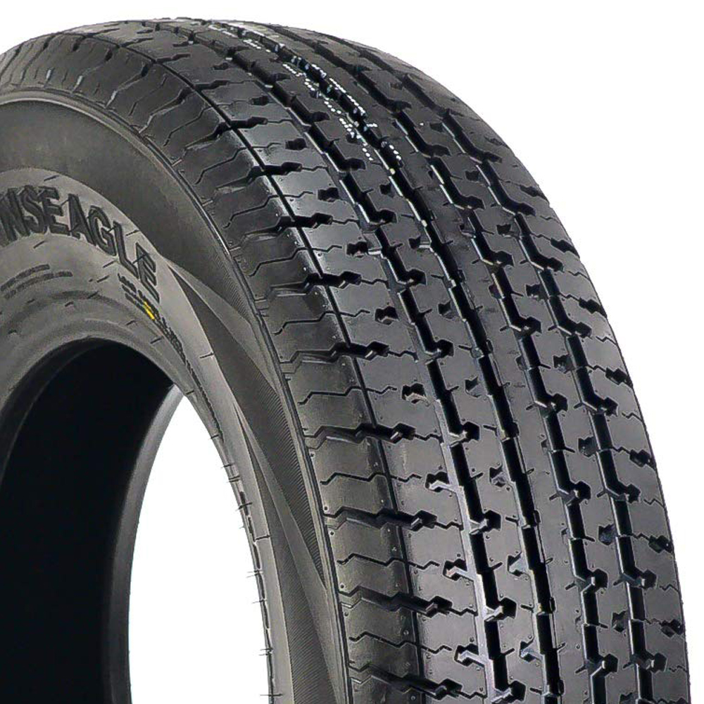 Transeagle Tires ST Radial II Trailer Tire - ST205/75R15 111/106LL 10 Ply