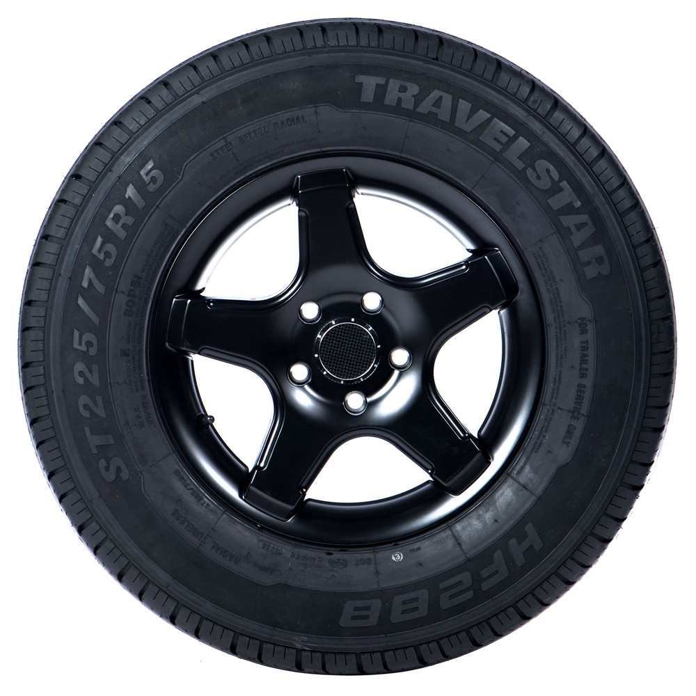 Travelstar Tires HF288 Trailer Tire - ST225/75R15 117/112M 10 Ply