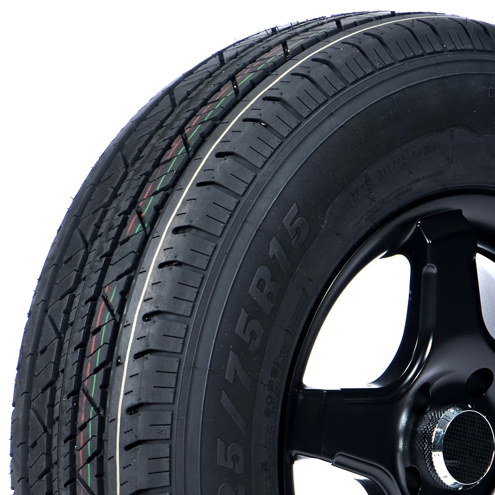 Travelstar Tires HF288 Trailer Tire - ST205/75R14 100/96M 6 Ply