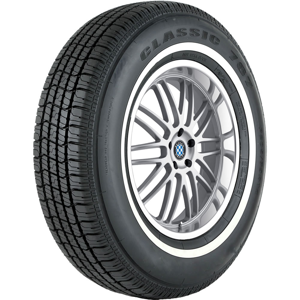Vercelli Tires Classic 787 Passenger All Season Tire - P205/75R14 95S