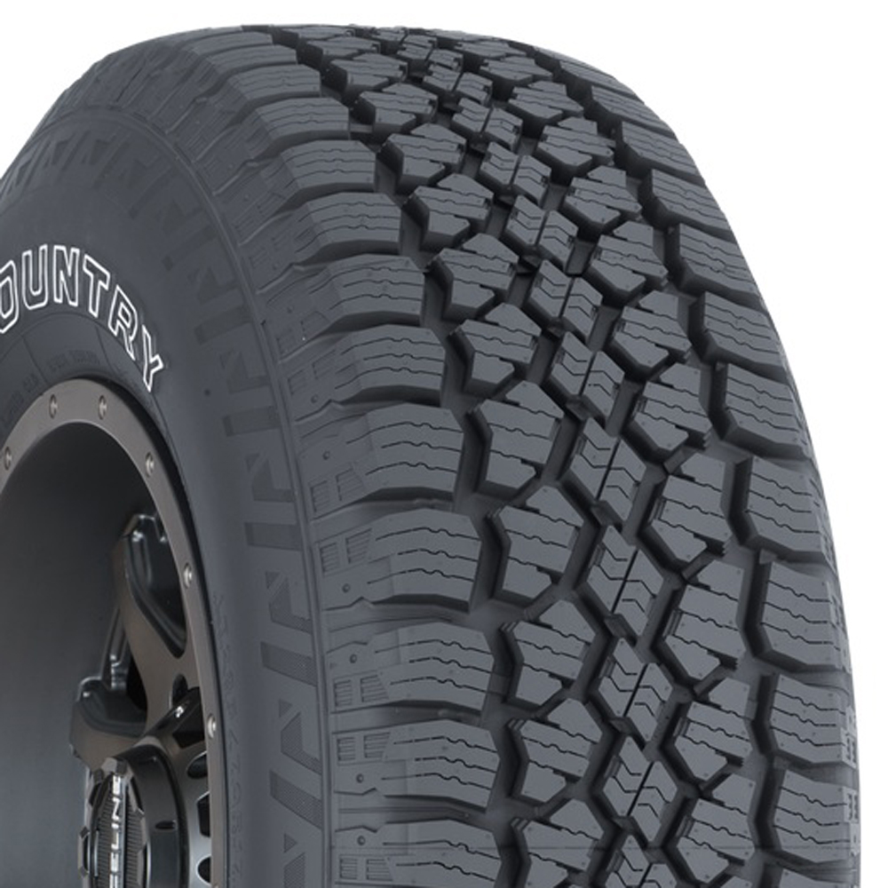 Wild Country Tires Trail 4SX A/T Light Truck/SUV All Terrain/Mud Terrain Hybrid Tire