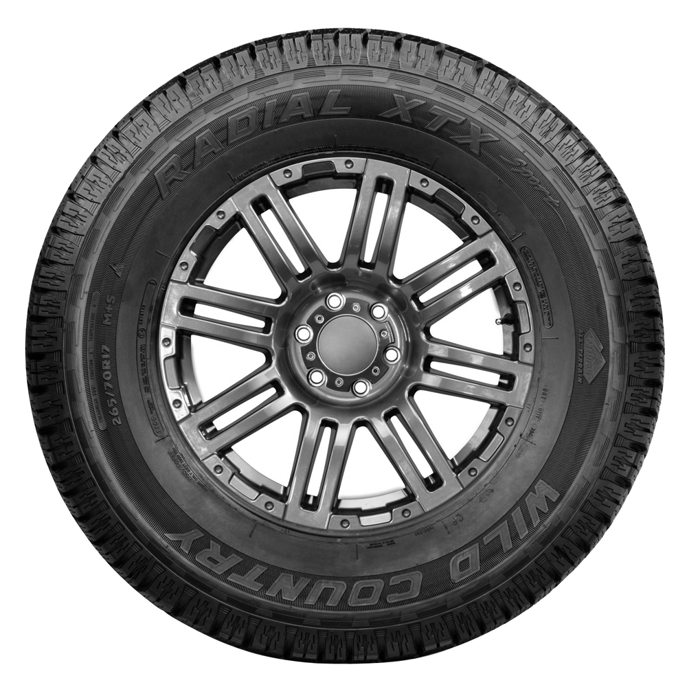 Wild Country Tires XTX Sport Light Truck/SUV All Terrain/Mud Terrain Hybrid Tire