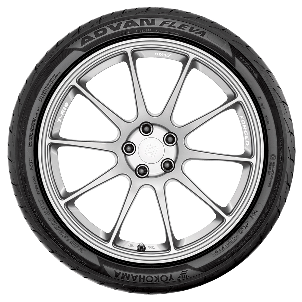 Yokohama Tires Advan Fleva V701 Passenger Summer Tire
