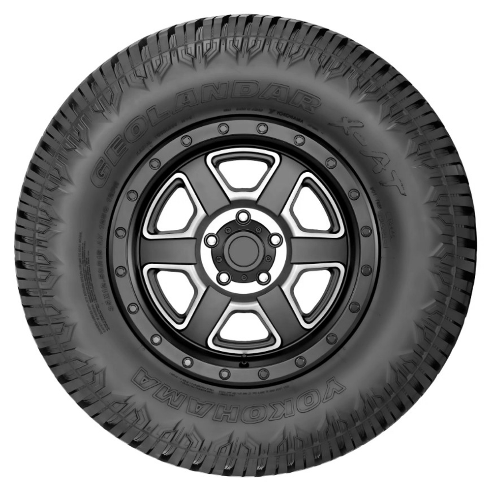 Yokohama Tires Geolandar X-AT - 37x12.5R17LT 124Q 10 Ply