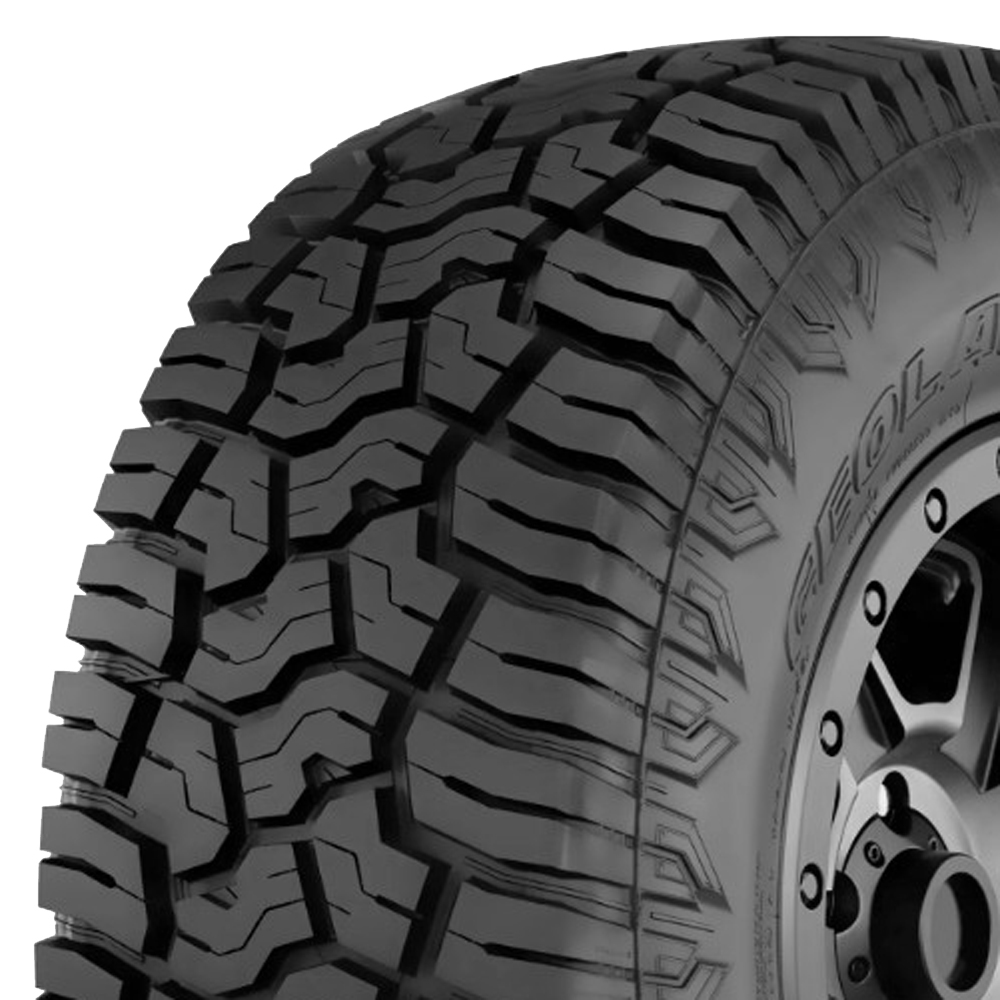 Yokohama Tires Geolandar X-AT Light Truck/SUV All Terrain/Mud Terrain Hybrid Tire - 37x13.5R20LT 127Q 10 Ply