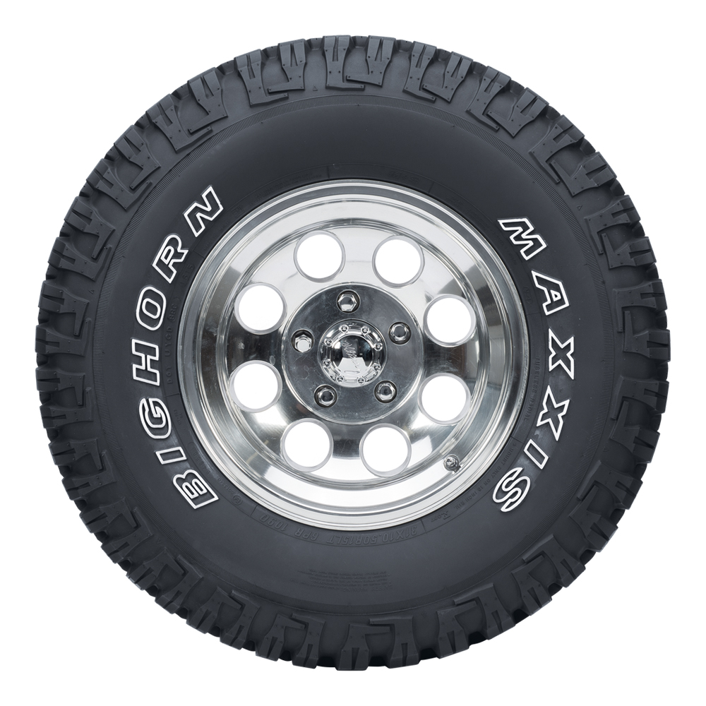 Maxxis Tires Bighorn MT-762 Light Truck/SUV All Terrain/Mud Terrain Hybrid Tire - LT305/70R17 119/116N 8 Ply