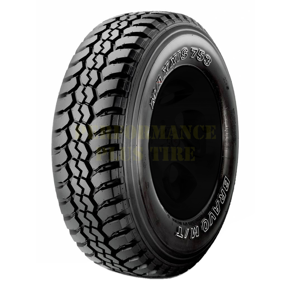 Maxxis Tires Bravo MT-753 Light Truck/SUV Mud Terrain Tire - LT215/75R15 100/97M 6 Ply
