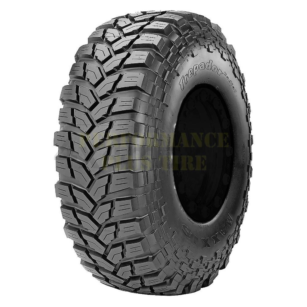 Maxxis Tires Trepador Radial M8060 Light Truck/SUV Mud Terrain Tire - 40x13.50R17LT 121Q 6 Ply
